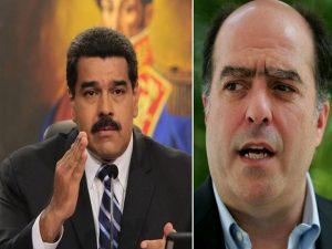 Maduro volvió a lanzarle puntas a Julio Borges 1