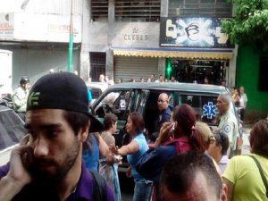Cinco personas heridas tras explosión en Chacao (+Fotos) 1