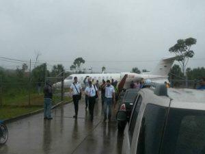 Debido al mal tiempo avioneta de PDVSA tuvo accidente en Santa Elena de Uairén (+Fotos) 1