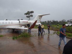 Debido al mal tiempo avioneta de PDVSA tuvo accidente en Santa Elena de Uairén (+Fotos) 2