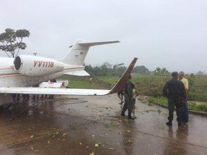 Debido al mal tiempo avioneta de PDVSA tuvo accidente en Santa Elena de Uairén (+Fotos) 3