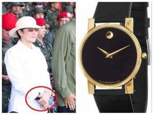 Este es el reloj sencillito de Cilia Flores (+Fotos) 1