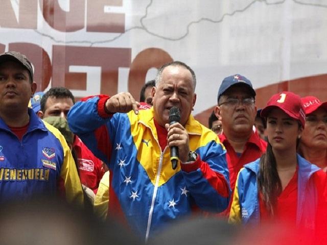 Diosdado Cabello dice que en Venezuela no habrá canal humanitario 29