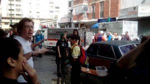 Cinco personas heridas tras explosión en Chacao (+Fotos) 2