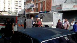 Cinco personas heridas tras explosión en Chacao (+Fotos) 4