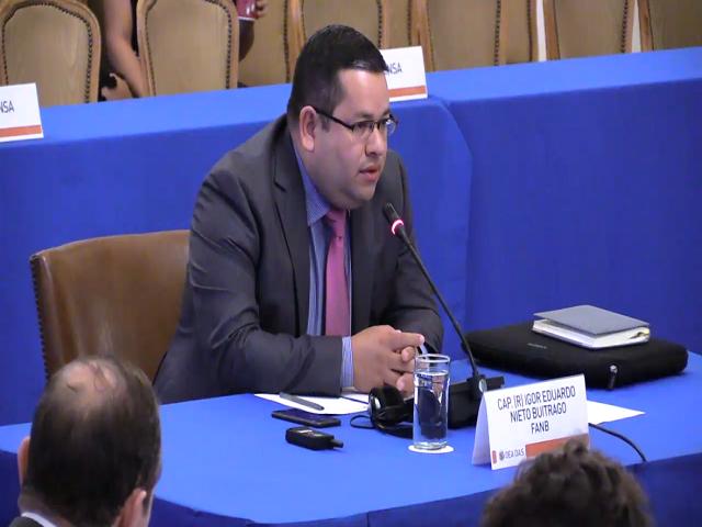 Militares retirados participaron en sesión de la OEA (+Video) 1