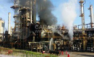 Usuarios reportaron incendio en Refinería El Palito (+Fotos+Video) 2
