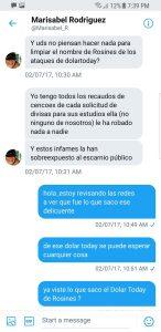 Salen a la luz conversaciones privadas entre Carvajalino y ex esposa de Chávez (+Fotos) 2