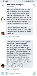 Salen a la luz conversaciones privadas entre Carvajalino y ex esposa de Chávez (+Fotos) 5