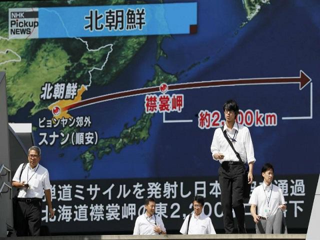 Mira cómo sonaron las alarmas en Japón por lanzamiento de misil norcoreano (+Video) 1
