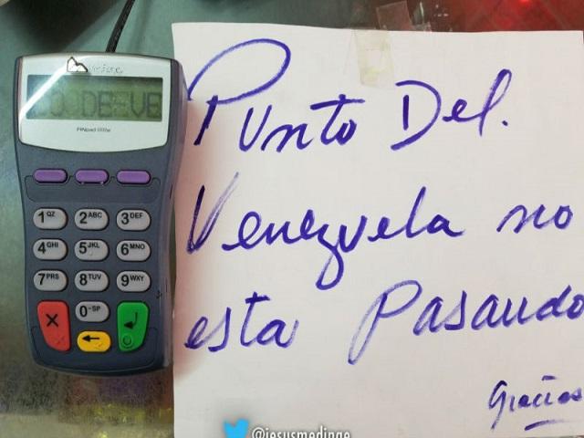 Puntos de venta del Banco de Venezuela y BOD no están funcionando 1