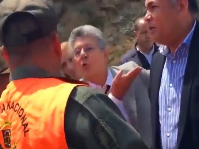 Henry Ramos Allup tuvo otro encontronazo con la GNB en Anzoátegui (+Video) 22