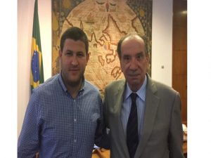 Smolansky se reunió con el canciller Aloysio Nunes en Brasil 1