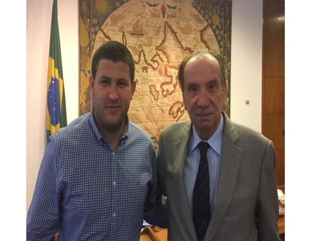 Smolansky se reunió con el canciller Aloysio Nunes en Brasil 22