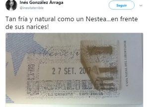 """Inesita """"La Terrible"""" huyó del país (+Fotos) 2"""
