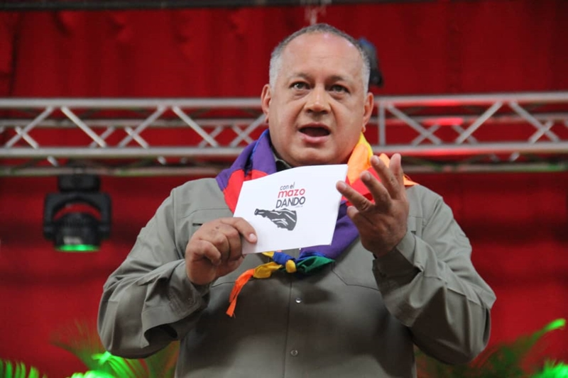 Diosdado dice que esta venciendo al imperio de los Estados Unidos (VIDEO) 34