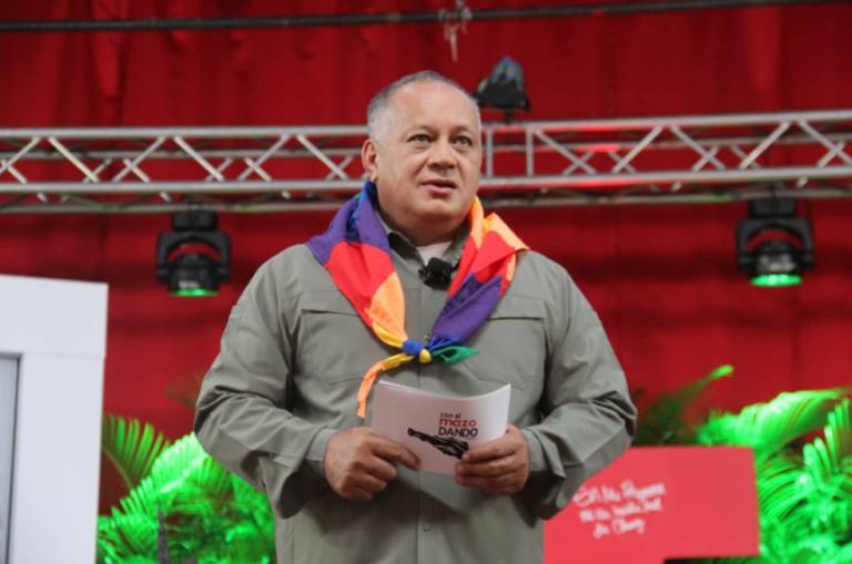 A Diosdado Cabello no le gusto que EE.UU. sancionara a Luis Parra (VIDEO) 1