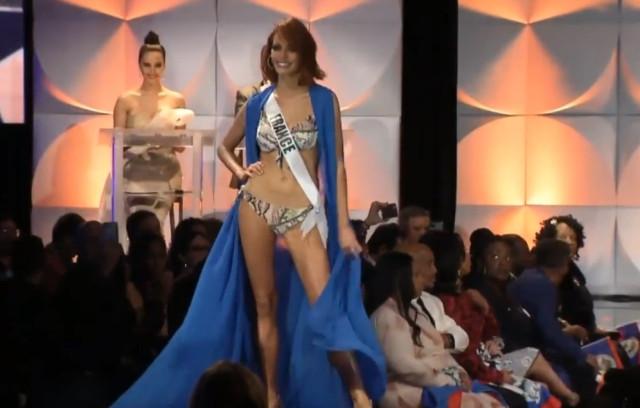 La aparatosa caída de Miss Francia durante el desfile en trajes de baño (VIDEO) 8