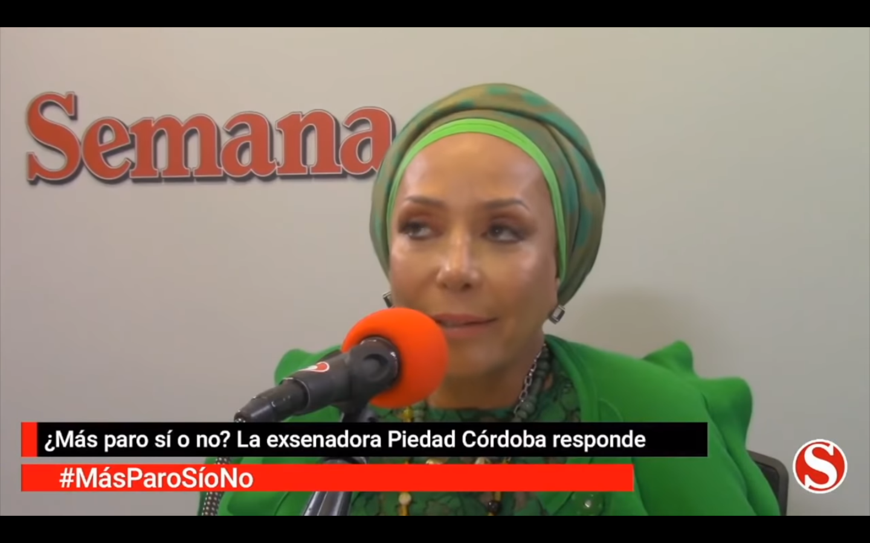 """Piedad Córdoba: """"En unas elecciones con o sin Maduro gana el chavismo"""" (video) 7"""