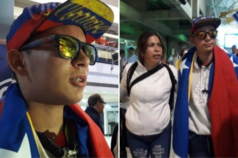 """Rufo Chacón tras regresar a Venezuela: """"La vida sigue, hay que seguir luchando por un futuro"""" (VIDEO) 1"""