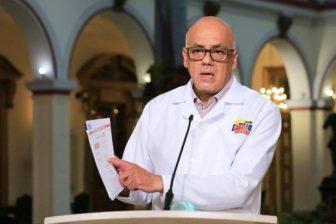 """Jorge Rodríguez, """"candidato"""" electoral, regresó para hablar sobre Roland Carreño 1"""