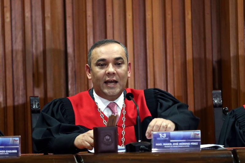 """Maikel Moreno durante la Apertura Judicial 2021: """"El Esequibo es de Venezuela"""" 1"""