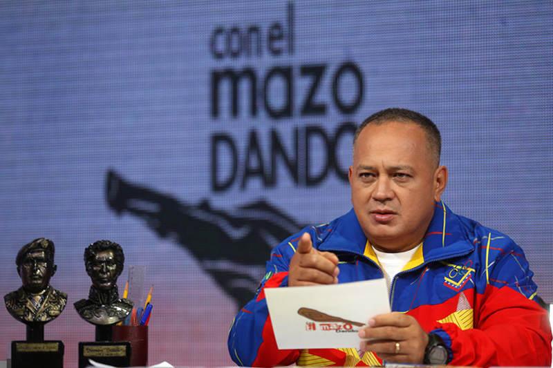 """""""La idea de un embajador no es ir a conspirar"""": la advertencia de Diosdado Cabello al gobierno español 6"""