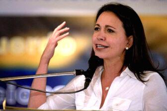 """María Corina Machado ratificó que """"se prepara"""" para arrasar en unas elecciones 1"""