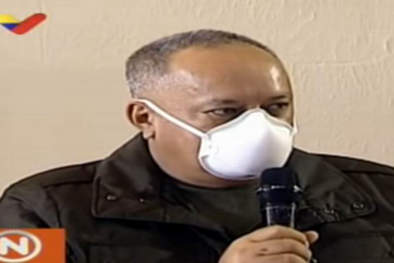 Apareció Diosdado respondiendo las interrogantes sobre su salud 13