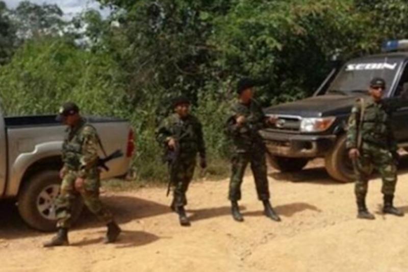 Abaten en Bolívar a cinco delincuentes que tenían un lanzacohetes 2