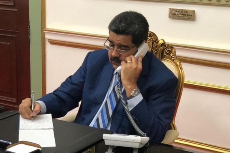 Maduro pone su fe en el diálogo con oposición 5