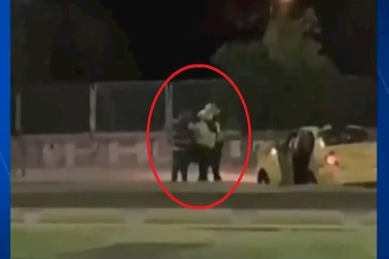 Tres Policías golpean a un taxista, en Bogotá (video) 2