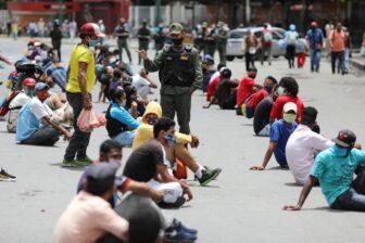 Imputadas 77 personas por violar la cuarentena en Caracas 1