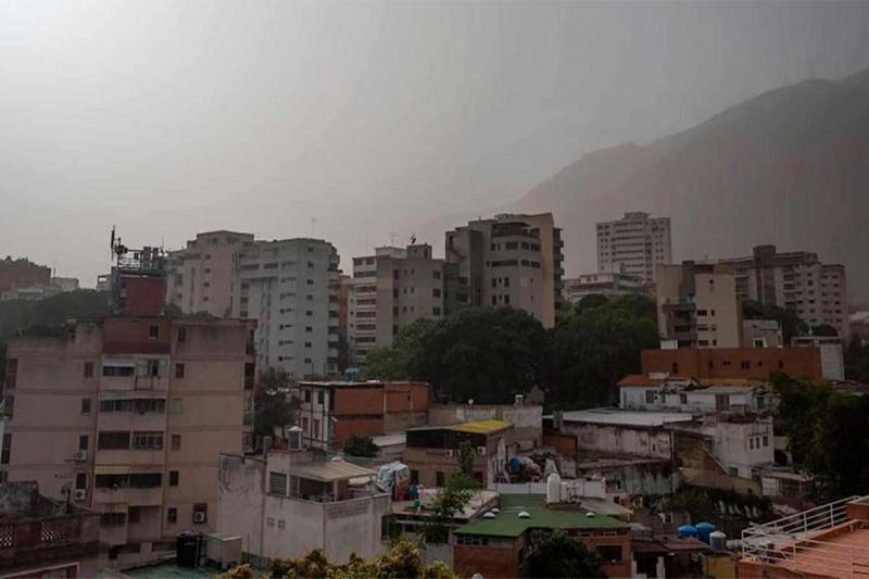 Nueva nube de polvo del Sahara en Venezuela 2