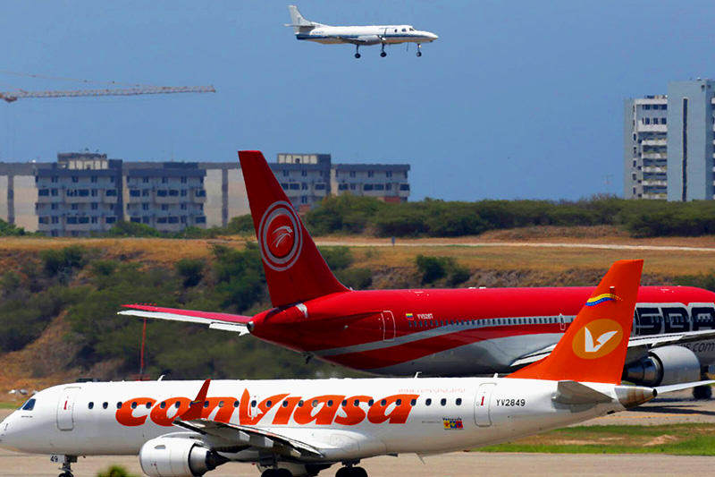 Conviasa activó unos vuelos especiales a Canaima y Porlamar con motivo del Carnaval 2