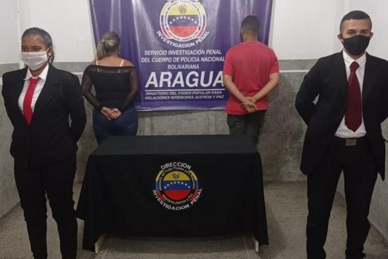 Detienen a funcionario de la PNB por tener relaciones sexuales con una reclusa en Aragua (tweet) 1