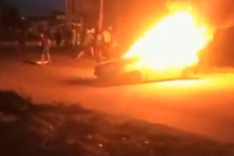 Guardia Nacional no aguantó la presión de los habitantes de Guárico, mire el porqué (Videos) 1