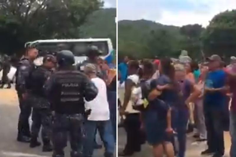 Protestan por falta de gas y gasolina nuevamente en Cojedes (Fotos) 3