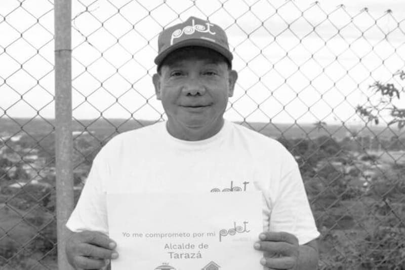 El Alcalde de Tarazá, Miguel Angel Gómez, falleció por COVID-19 (tweet) 1