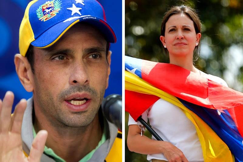 María Corina hace acusaciones grave contra Capriles: Esta con Maduro 8