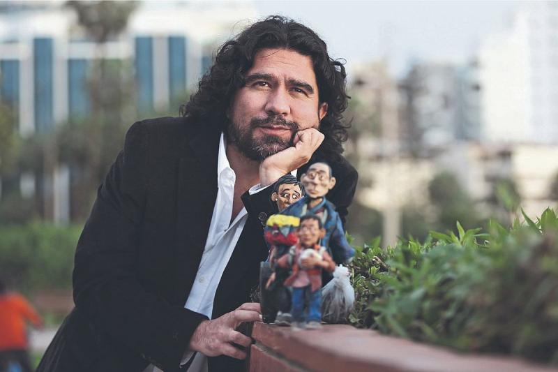 Edgar Alvarez, un colombiano que cuenta la historia de los migrantes venezolanos con plastilina (fotos) 1