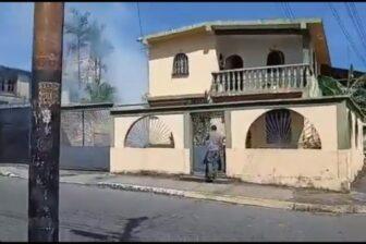 Policías lanzan bombas lacrimógenas dentro de las casas en Yaracuy (video) 1