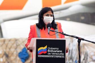 Otros 17 fallecidos por COVID-19 reporta Delcy Rodríguez este domingo