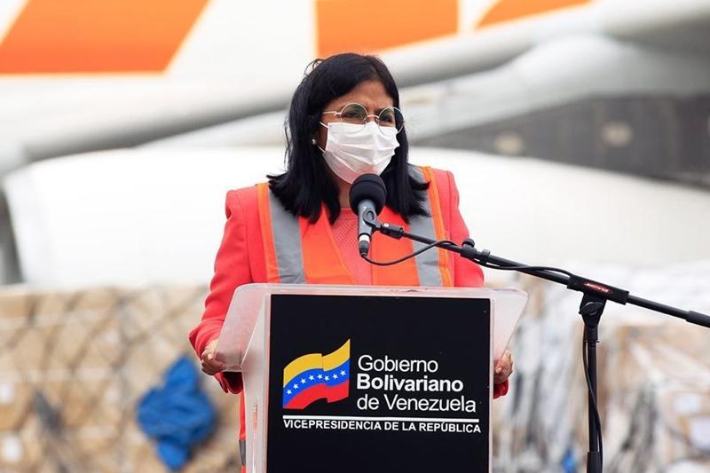 Delcy Rodríguez continúa como vicepresidenta del régimen a pesar del nombramiento como ministra 2