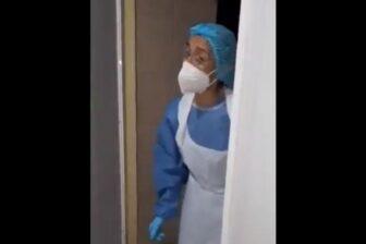 Enfermera relata lo que se vive en el área COVID-19 del Hospital Central de San Cristóbal 1