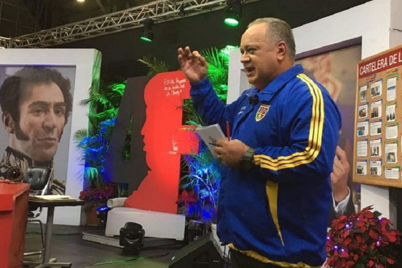 """Diosdado Cabello dijo que """"alzará sus dos manos"""" para que se agregue otra estrella a la bandera 4"""
