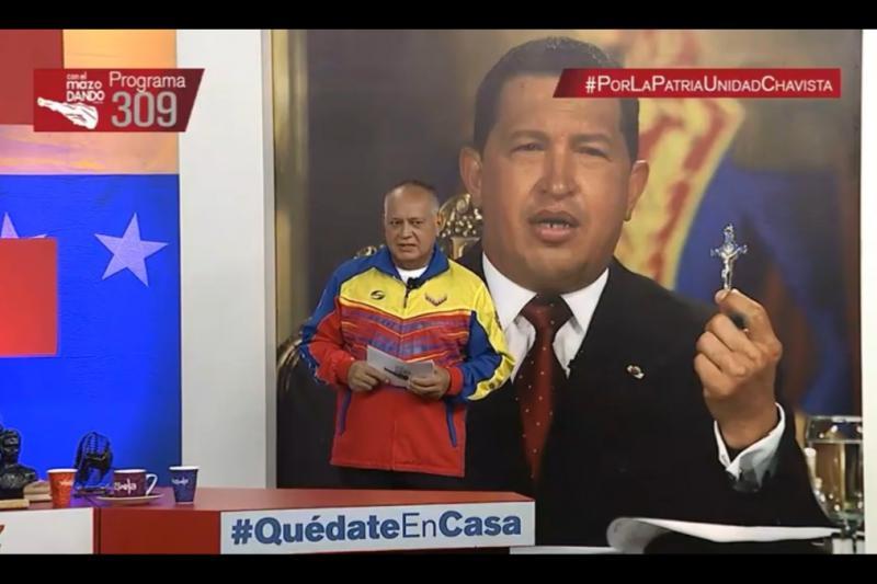 Diosdado Cabello regresa a Con El Mazo Dando tras superar el coronavirus 11
