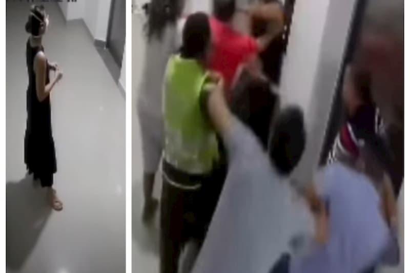 Doctora agredida en Barranquilla los hombres que me golpean no viven en el edificio (video) 1