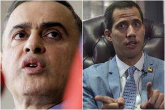 Guaidó se las cantó a Tarek luego de que le abrieran una investigación por corrupción 1
