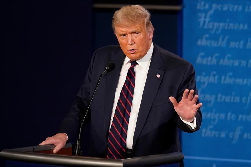 """Trump sobre Joe Biden: """"No hay nada inteligente en ti"""" 1"""